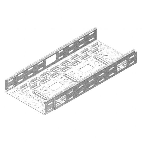 Кабельный лоток для промышленного монтажа с телескопическими концами - KBSM(I)60